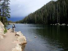 Fishing Rocky Mountain N.P.
