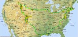 Peaceful Path of the U.S. Tour