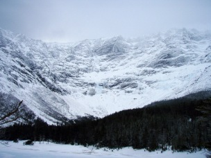 View from Chimney Pond
